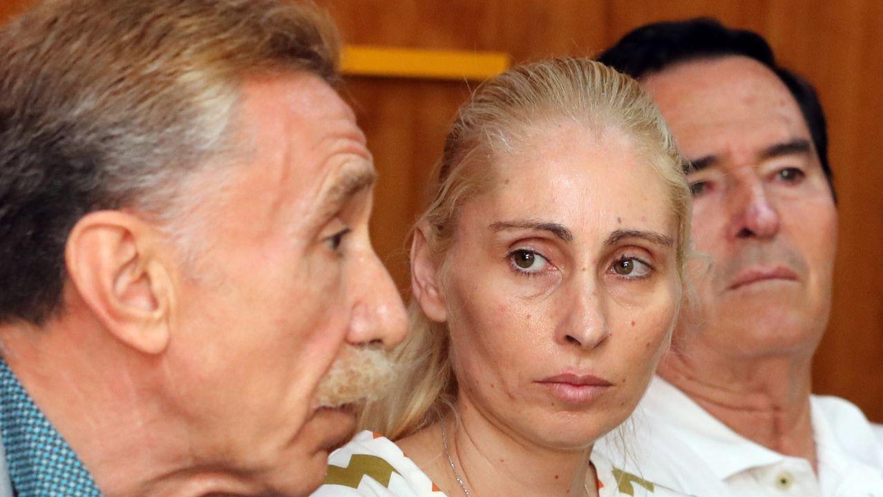 Los padres de Yéremi Vargas con su nuevo abogado
