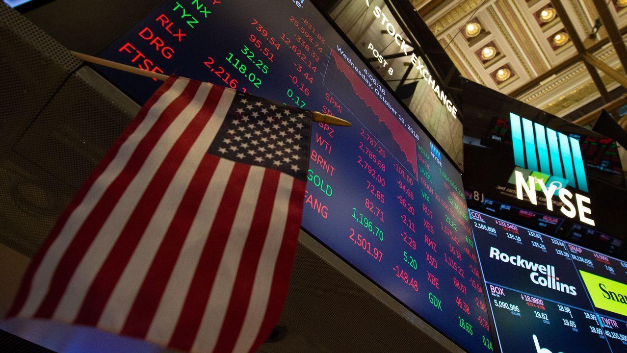 Desplome de la Bolsa en Wall Street