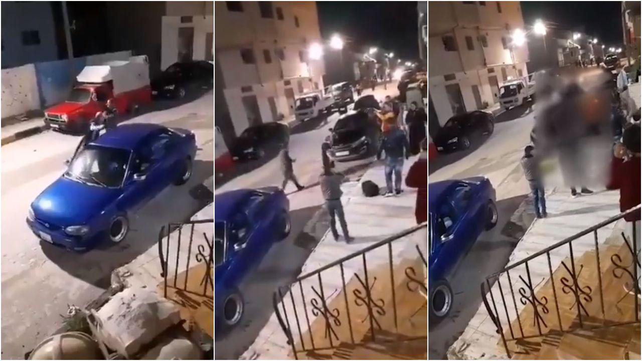Secuencia de lo sucedido en la ciudad jordana de Amrawah