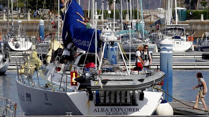 La Tall Ships Race, en imágenes.Uno de los barcos de la regata de grandes veleros