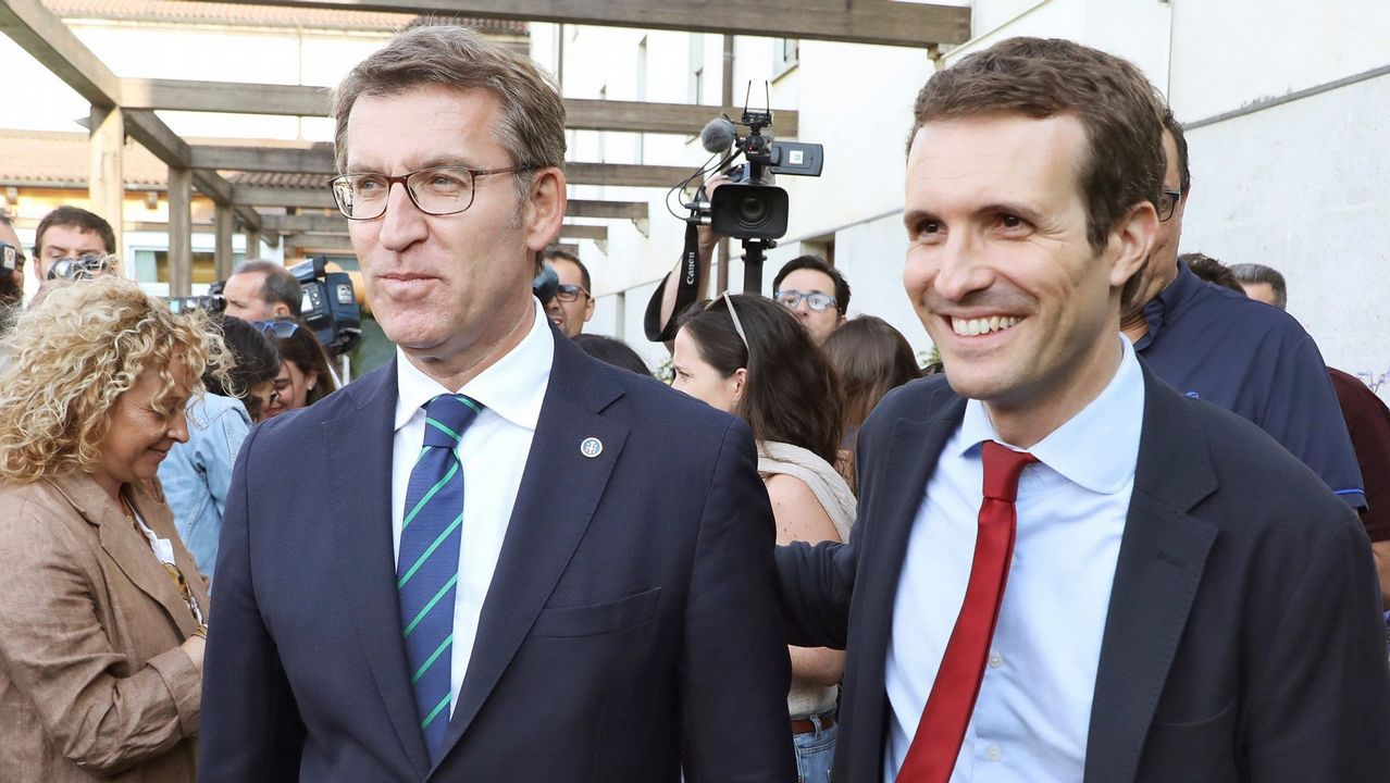 Casado organiza un almuerzo con exministros de Rajoy