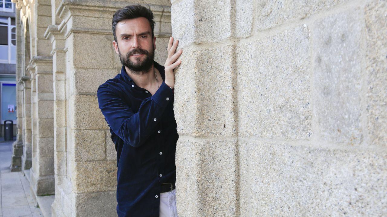 Rubén Albés y Tino Saqués, el día de su presentación