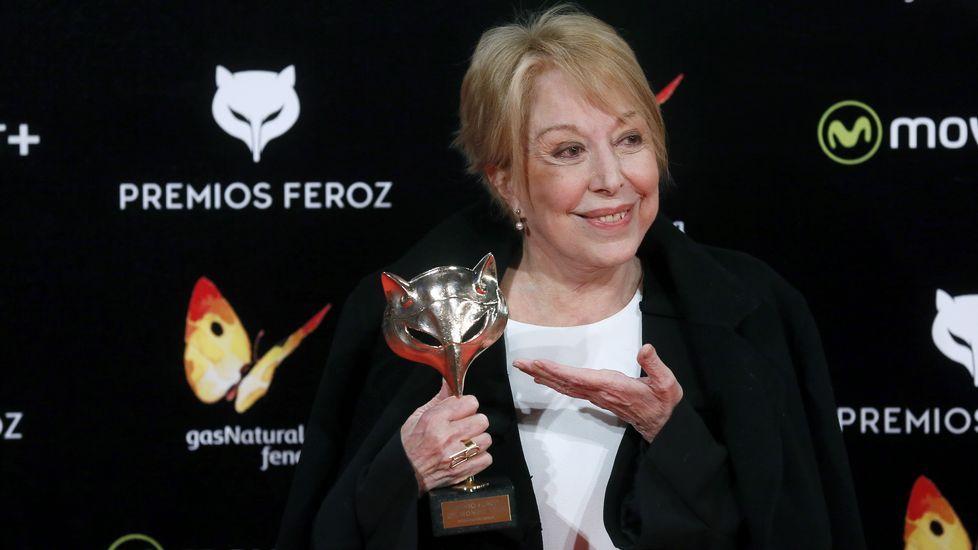 Los protagonistas de los premios Feroz