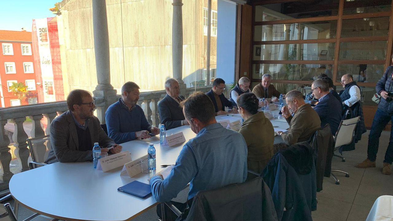 Participantes en la reunión bilateral sobre Gibraltar