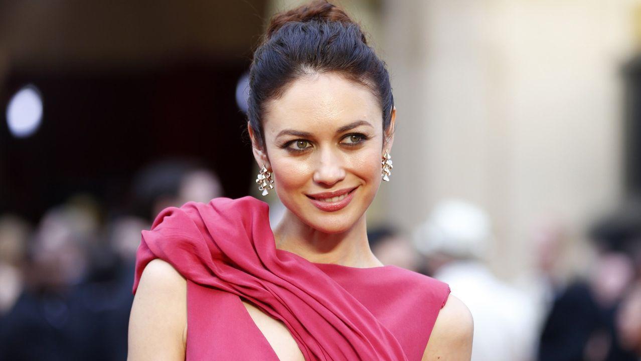 La actriz Olga Kurylenko