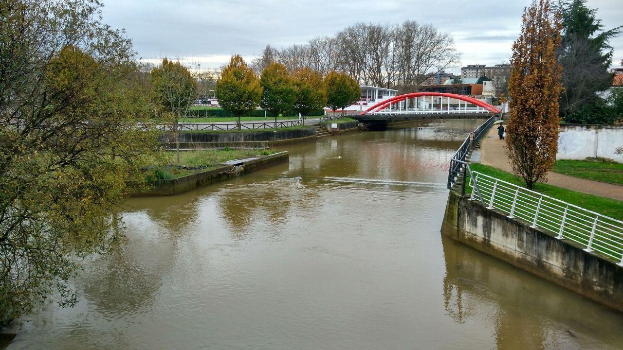El río Piles, a su paso por Las Mestas