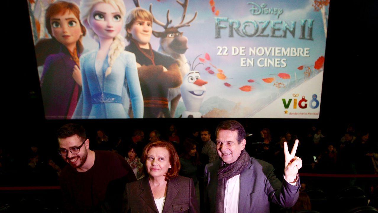 Vigo preestrena la película de animación más esperada.«Si yo fuera rico», la película de Alvaro Fernandez Armero rodada entre Madrid y Asturias