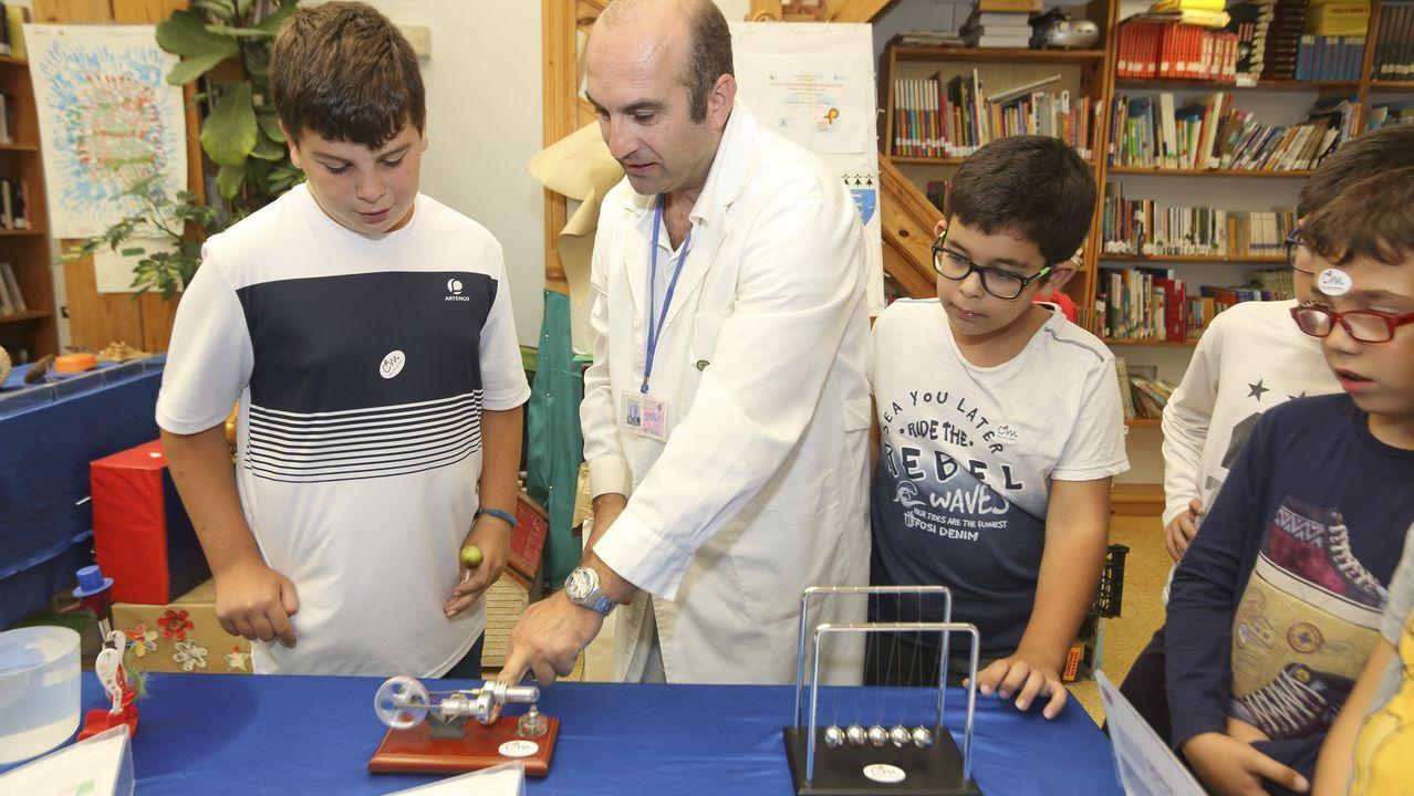 Ciencia en Movemento trajo a Camariñas un museo científico itinerante.Hallan dos mutaciones en la zona no explorada del genoma
