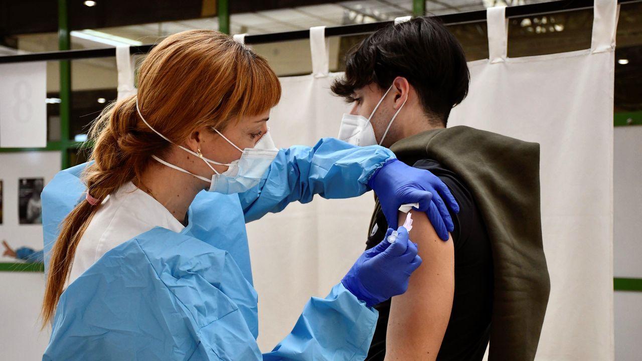 Inicio de la vacunación del personal educativo en Segovia
