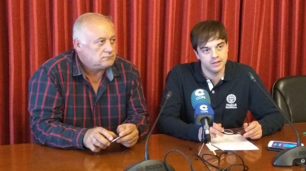 Jesús Álvarez Barbao y Juan Antonio Gómez Ponte