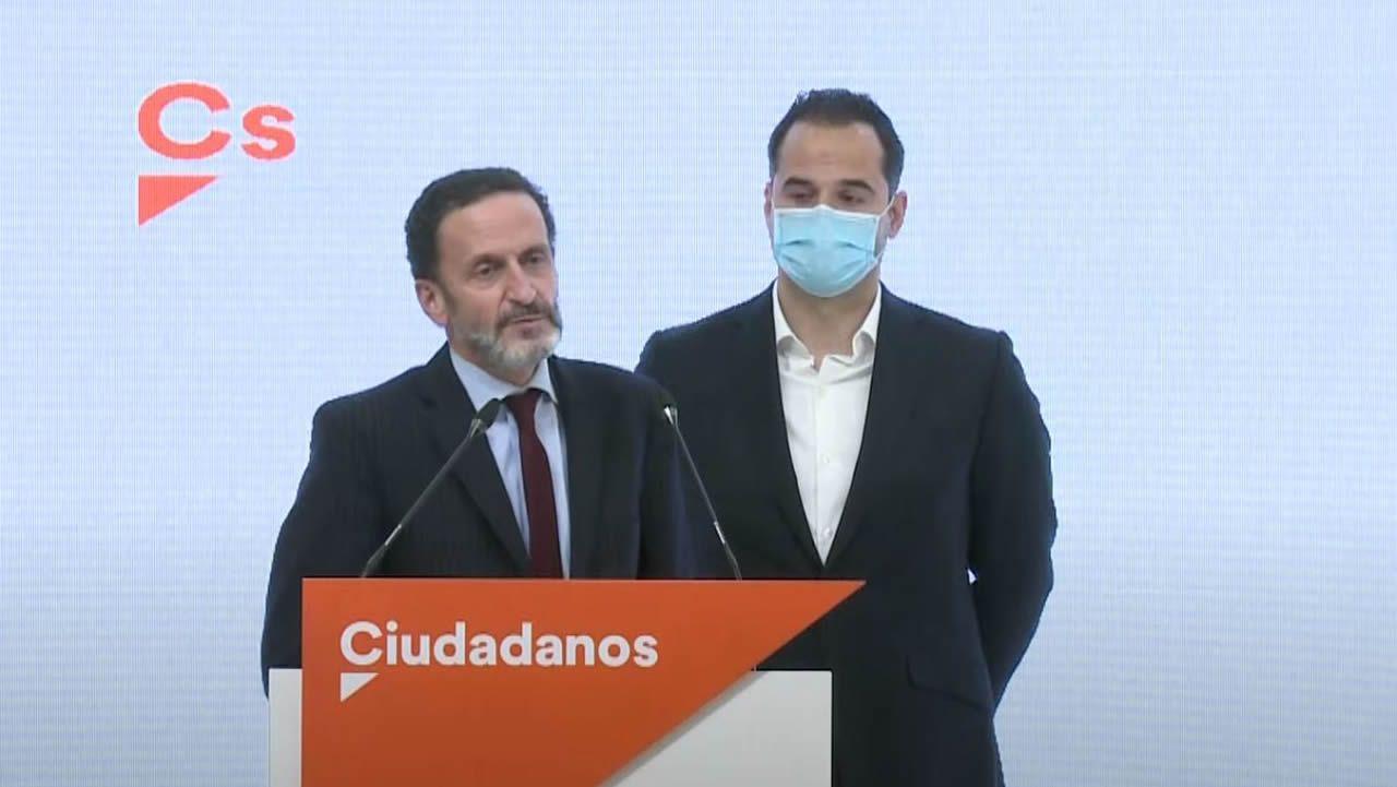 Fran Herviás, exsecretario de organización de Ciudadanos fichado por el PP, en una imagen distribuida por el partido