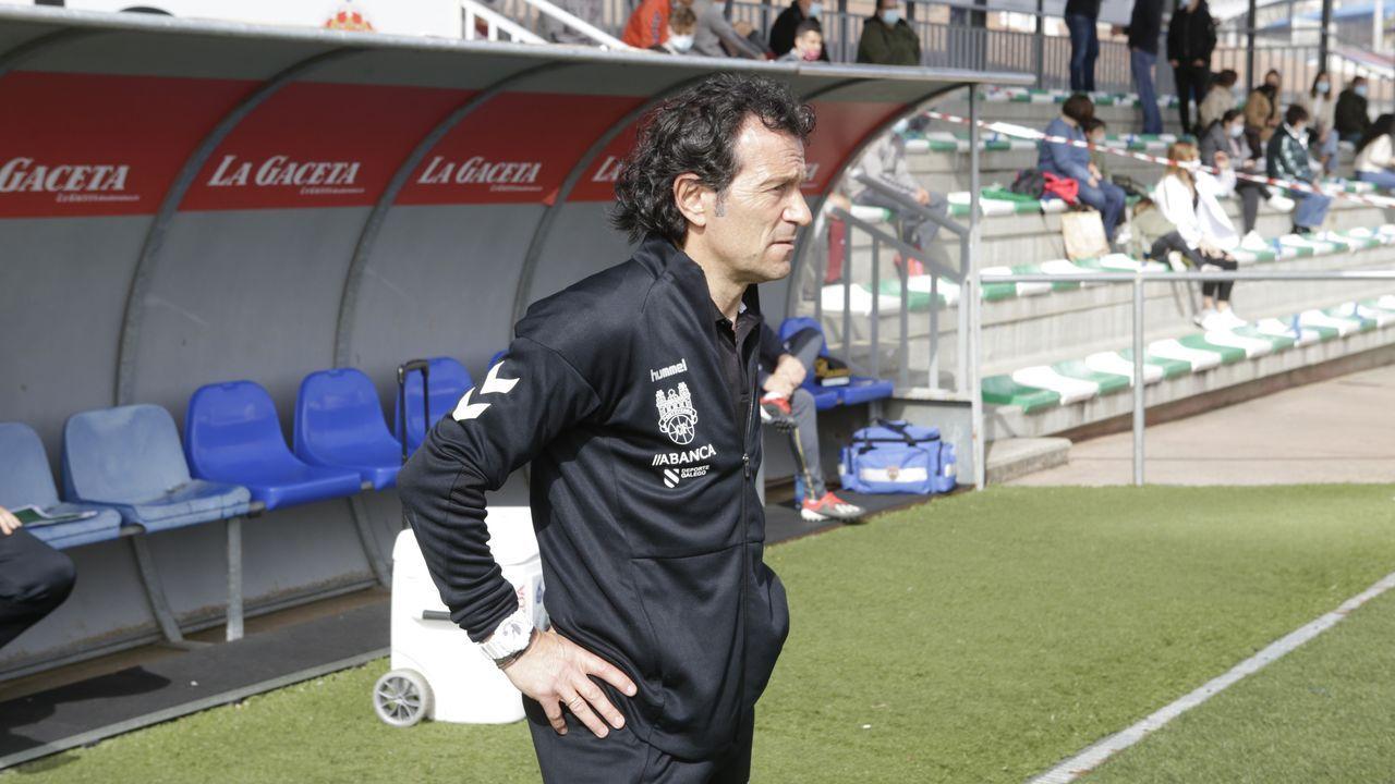 Triunfo del Pontevedra CF ante el Covadonga.Alineación del Vetusta en el partido ante el Sporting B