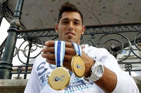Iván Alonso consiguió dos oros en el Mundial de Roma.