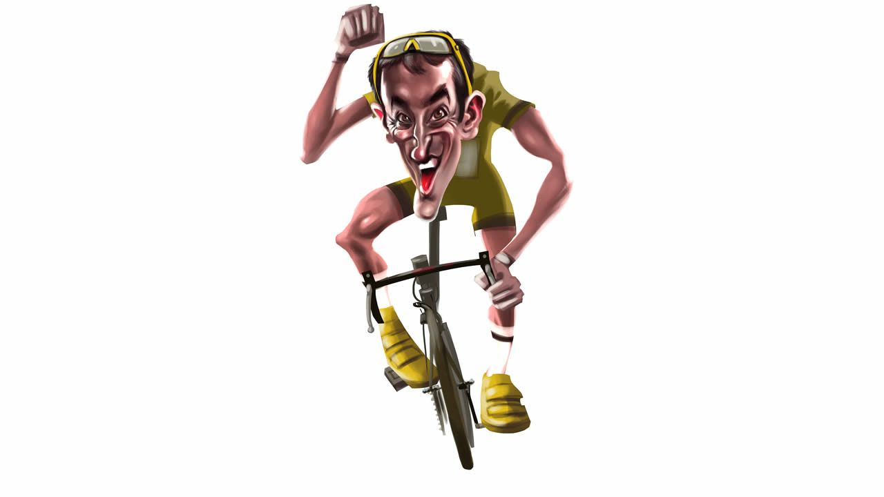 El ciclista Gustavo César Veloso