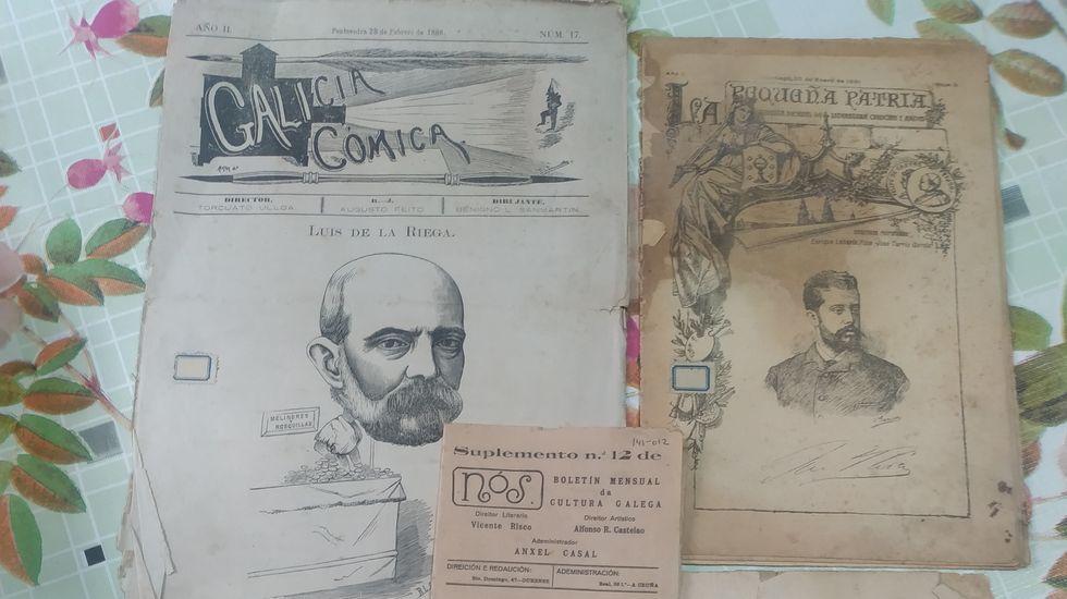 Iago Fraga Vilas mantén vivo o latín en Cambados