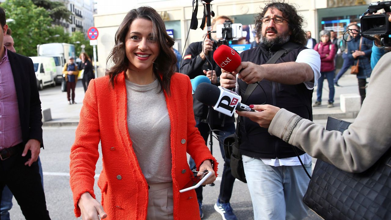 La diputada de Ciudadanos, Inés Arrimadas