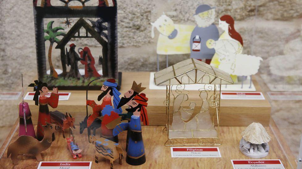 En el Obispado puede visitarse la exposición Belenes del Mundo