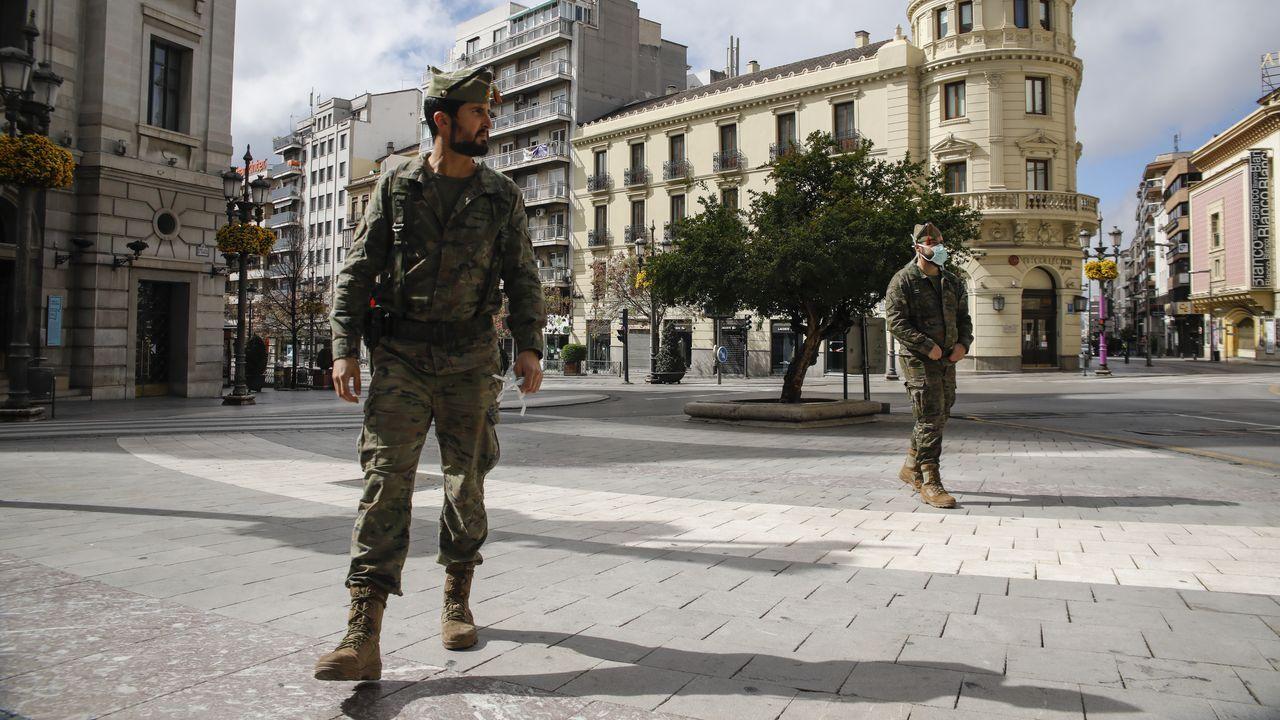 El despliegue del Ejército y de la Policía en las calles ha provocado un efecto disuasorio entre los delincuentes