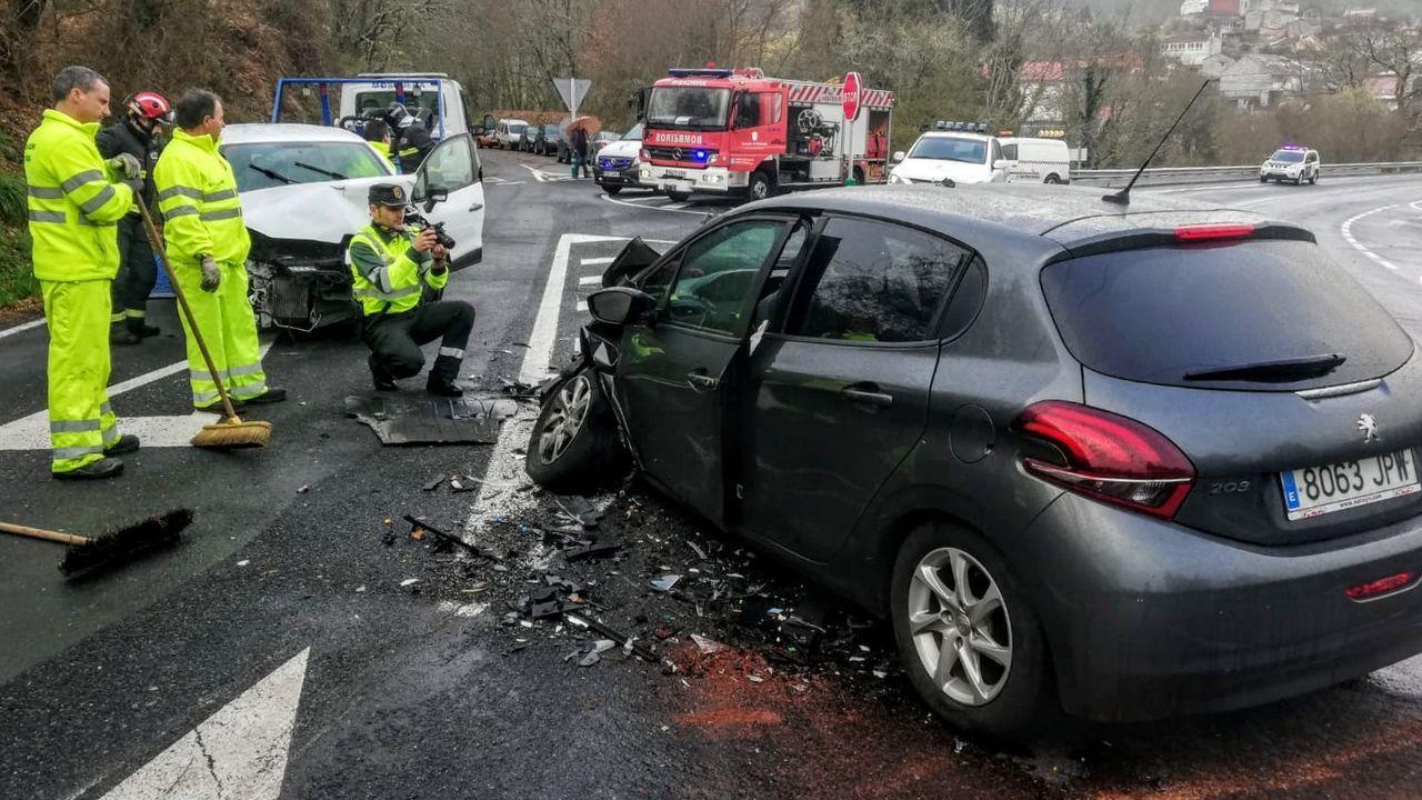 Uno de los últimos accidentes graves ocurridos en el tramo de la N-120 que pasa por el municipio de Panton, ocurrido en septiembre del 2019