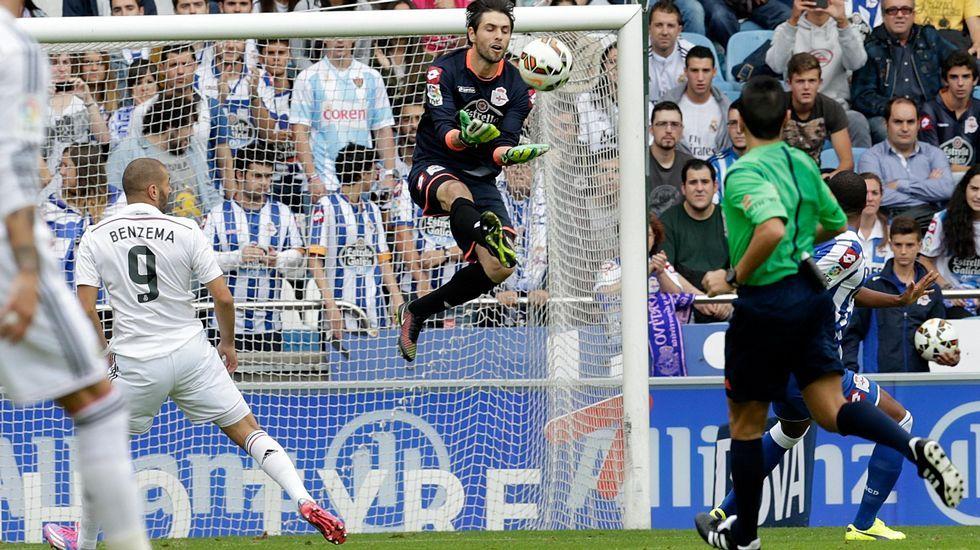 Germán Lux apenas disputó 7 partidos de Liga esta temporada. Perdió la titularidad tras el 4-1 en Sevilla.