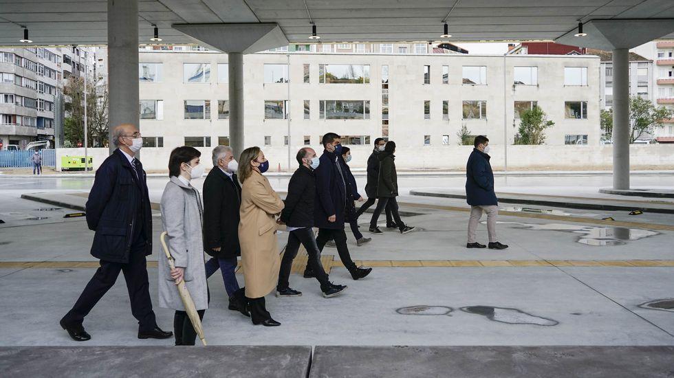 La nueva estación de autobuses de Ourense fue inaugurada el sábado