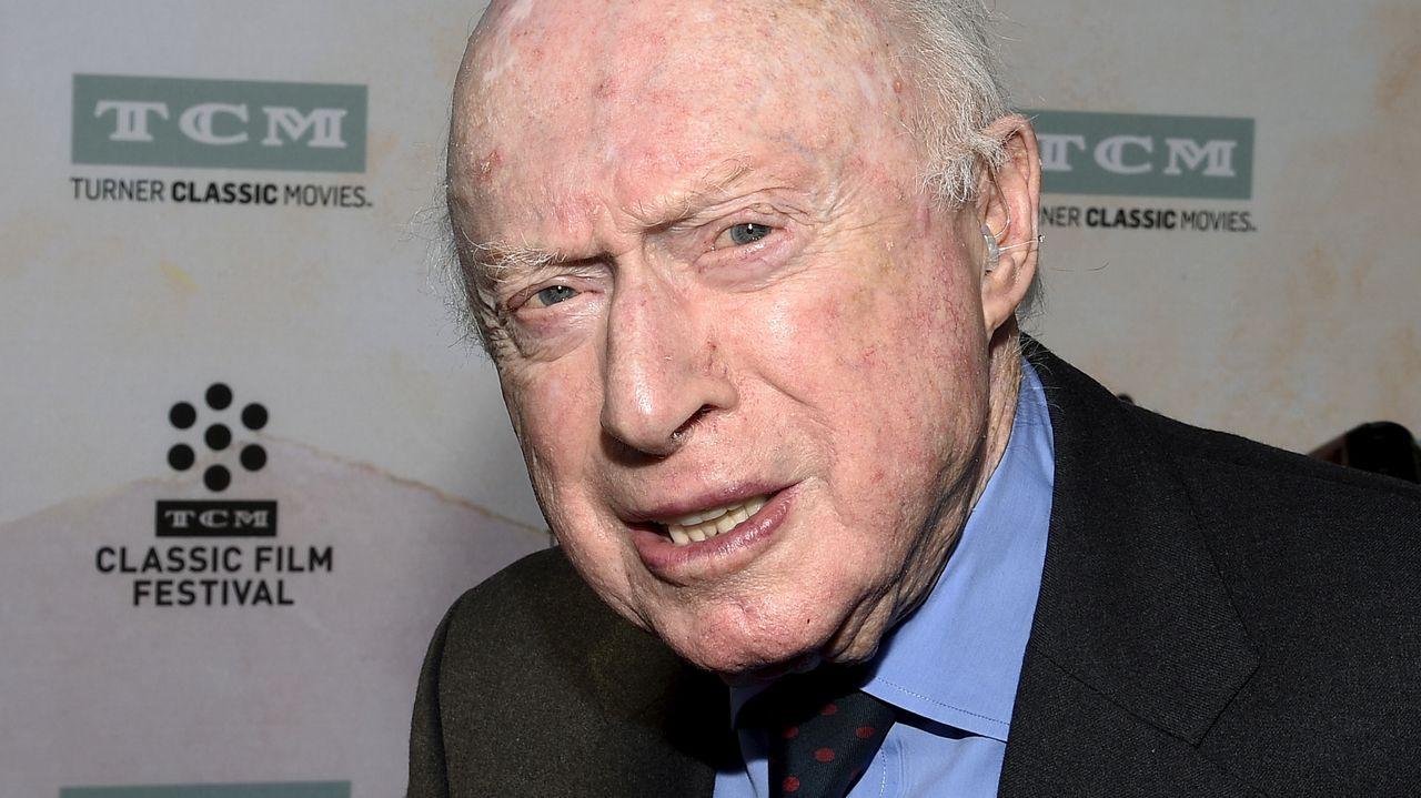 Norman Lloyd, en una gala en Los Ángeles en el 2015