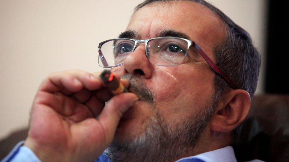 Rodrigo Londoño, alias Timochenko, fue el máximo líder de las FARC