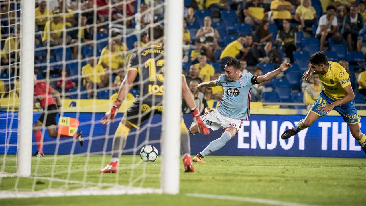 250 - Las Palmas-Celta (2-5) de Primera el 16 de octubre del 2017