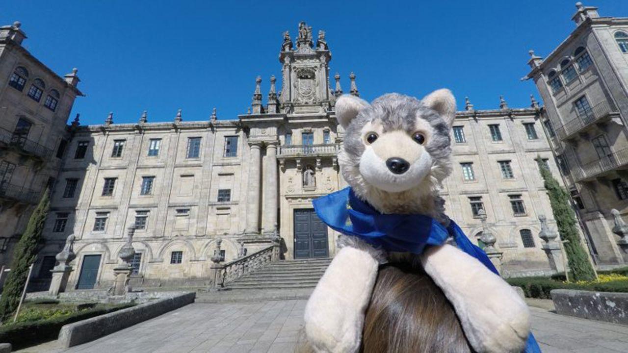 Mascota de AEGEE-Oviedo