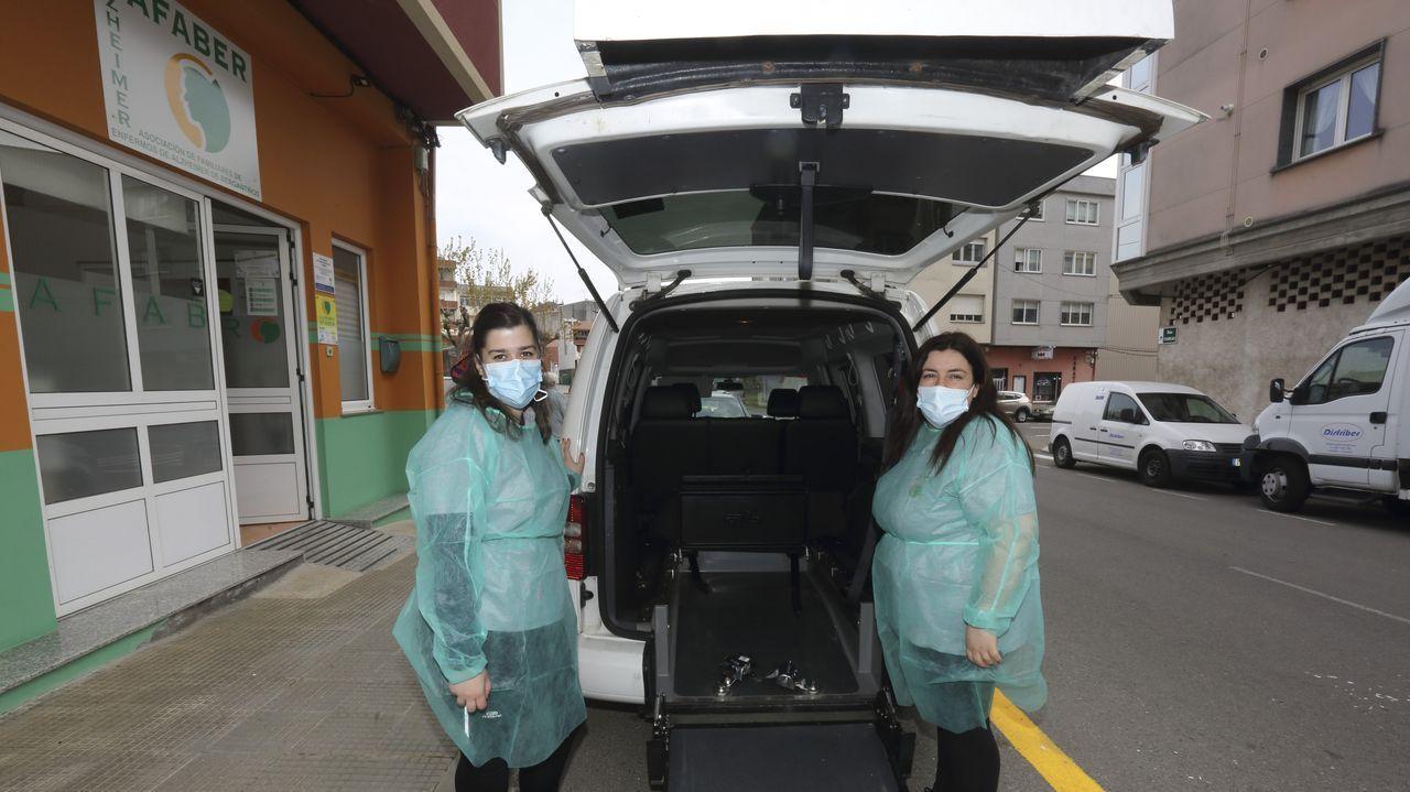 Trabajadoras de Afaber Carballo solicitan que se acelere la vacunación del personal y usuarios.