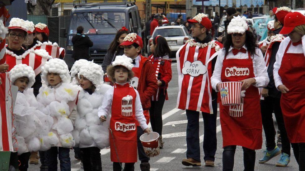 El desfile de A Rúa comenzará a las 17.30 horas