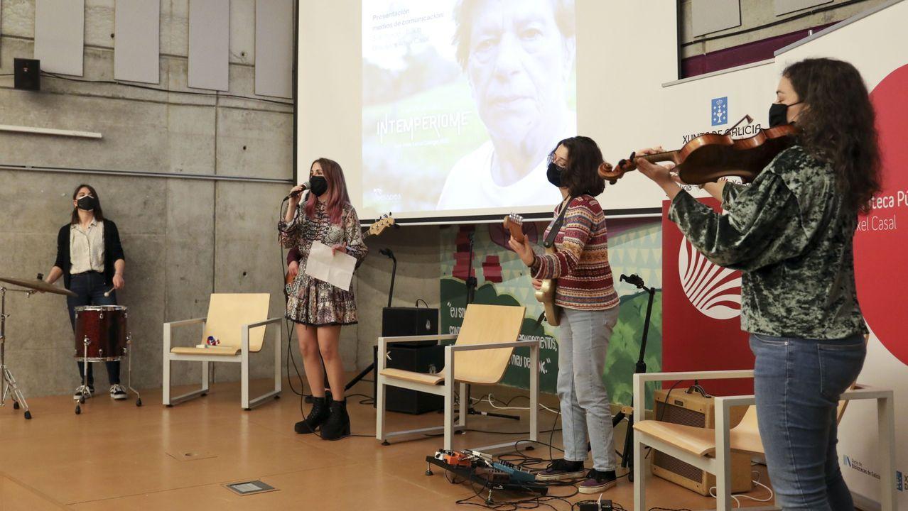 A Banda da Loba participará en el espectáculo multidisciplinar «Por Xela Arias»