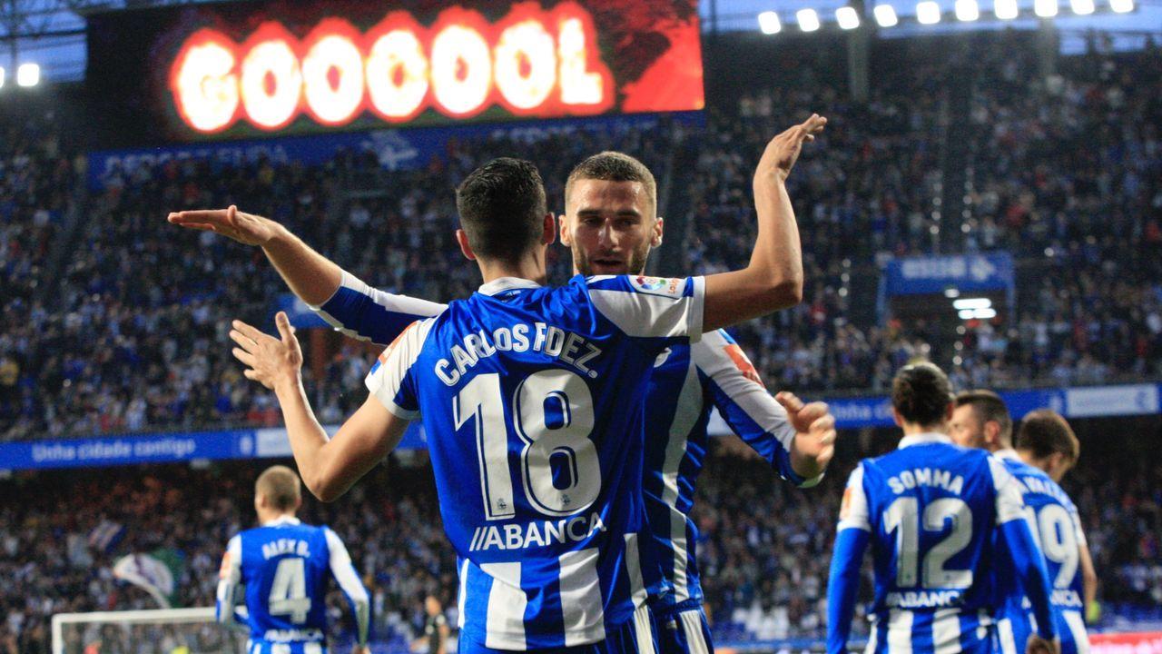 Lo mejor del Málaga - Deportivo.Juan Antonio Anquela y Sergio Egea