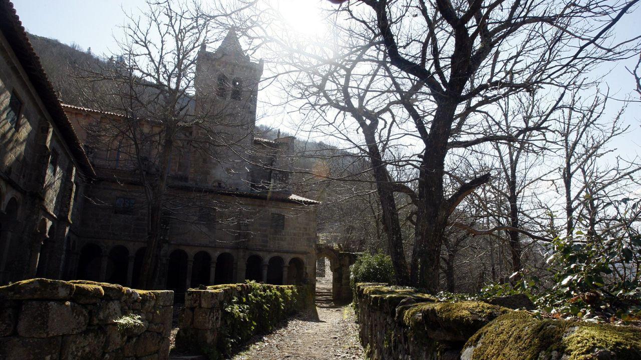 Imagen de archivo de la ruta que culmina en el Monasterio de Santa Cristina.
