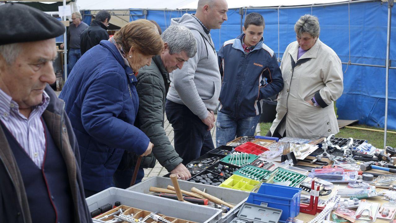 Imagen de archivo de la Feria de Santos de Monterroso