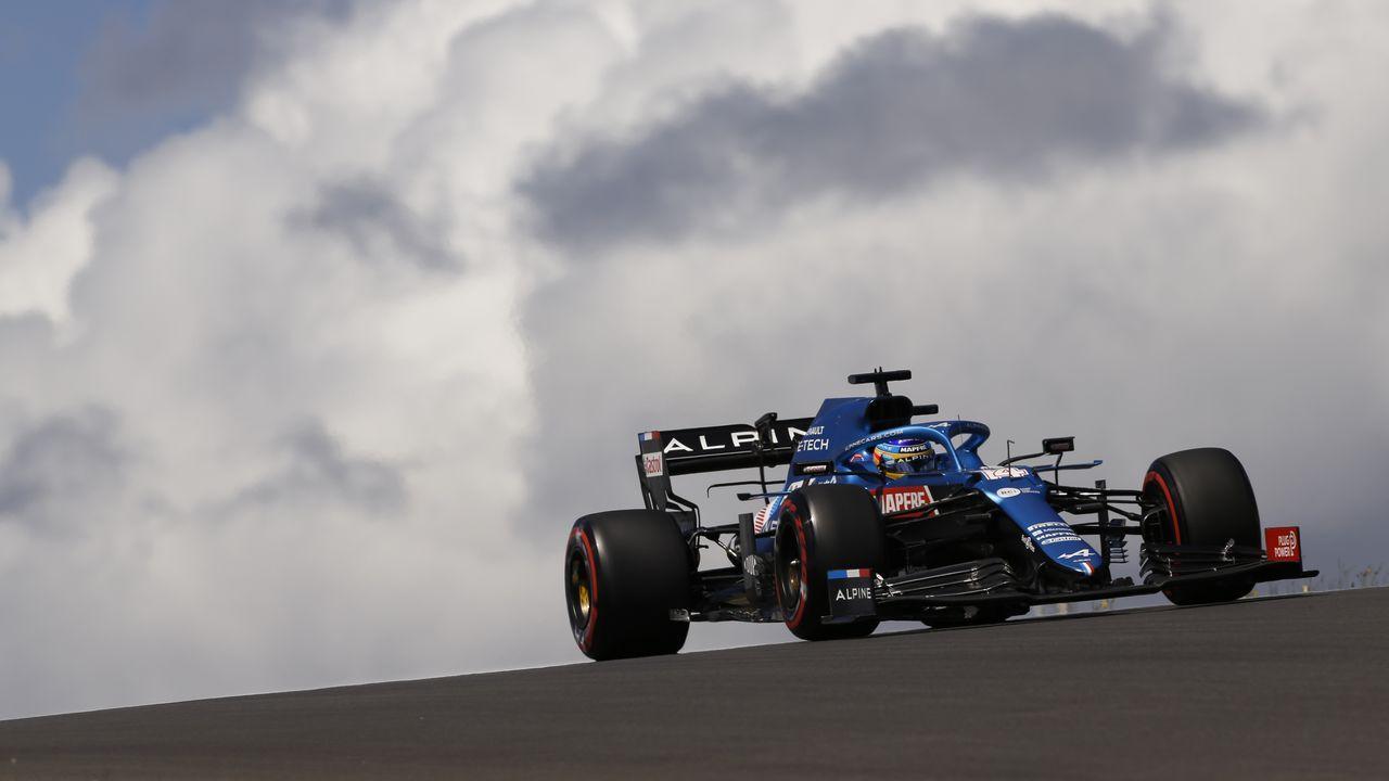 Fernando Alonso en el Gran Premio de Portugal