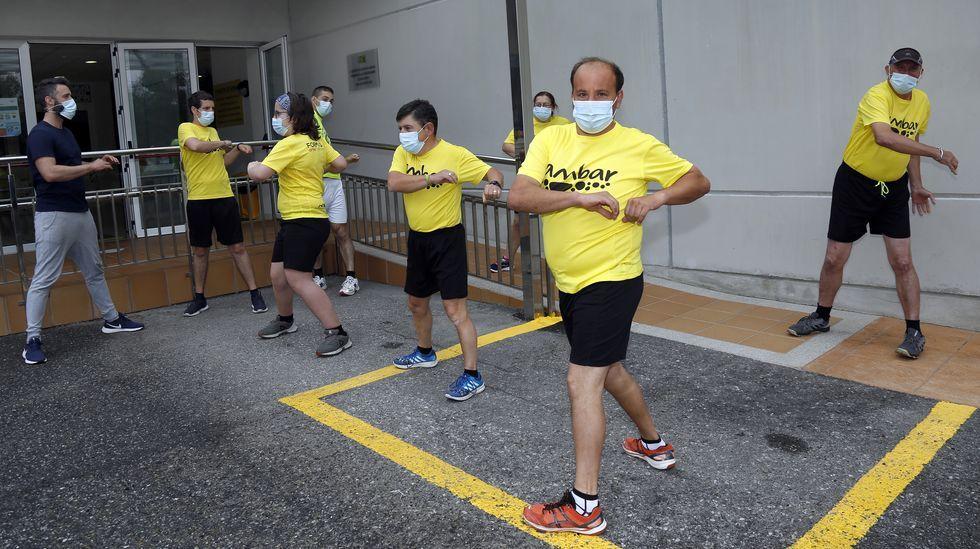 Protesta en A Pobra contra el cierre de la hostelería y las restricciones máximas