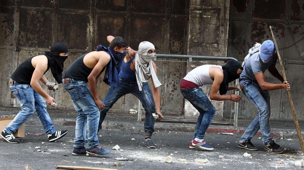 Batalla campal en Cisjordania.Un supuesto agresor palestino abatido en Israel