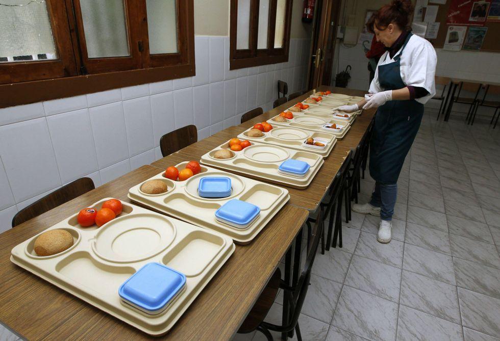 La ayuda municipal cubre alrededor de un 44 % de los gastos del comedor social de Cáritas.
