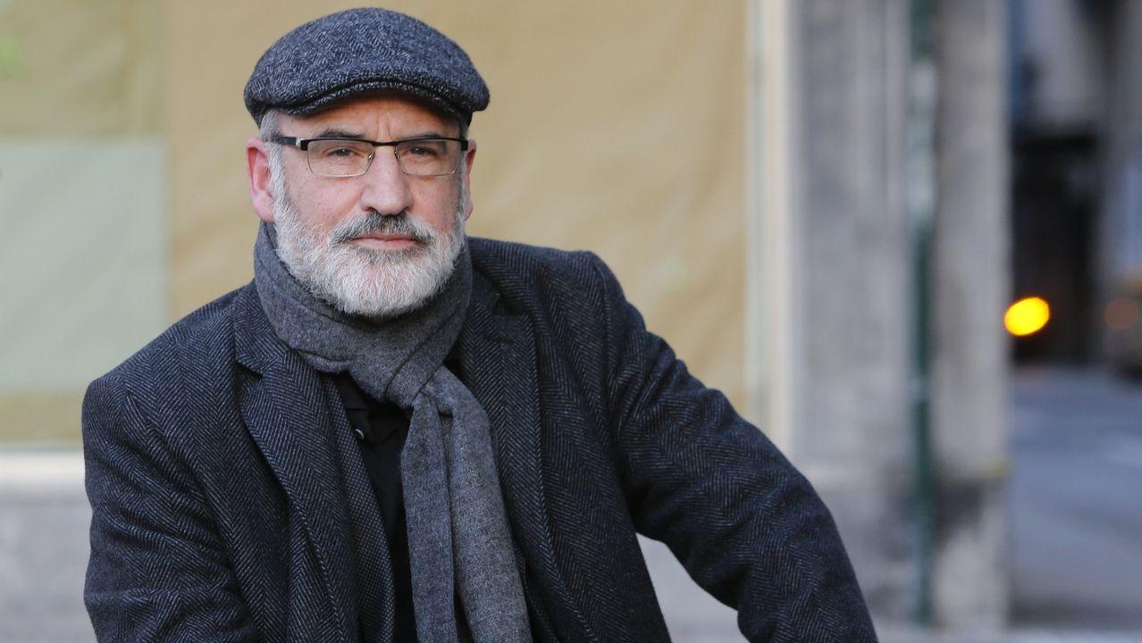 El escritor Fernando Aramburu en una visita a A Coruña en noviembre del 2016