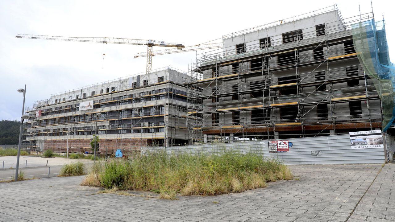 A lo largo de los tres próximos años se prevé construír unas 220 viviendas en O Castiñeiriño