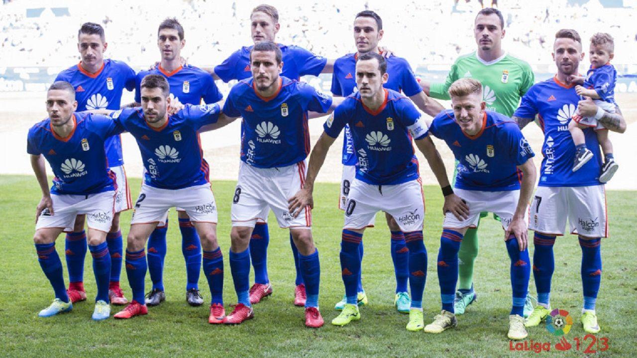 Anquela Requexon Real Oviedo.Once del Real Oviedo ante el Sevilla Atlético