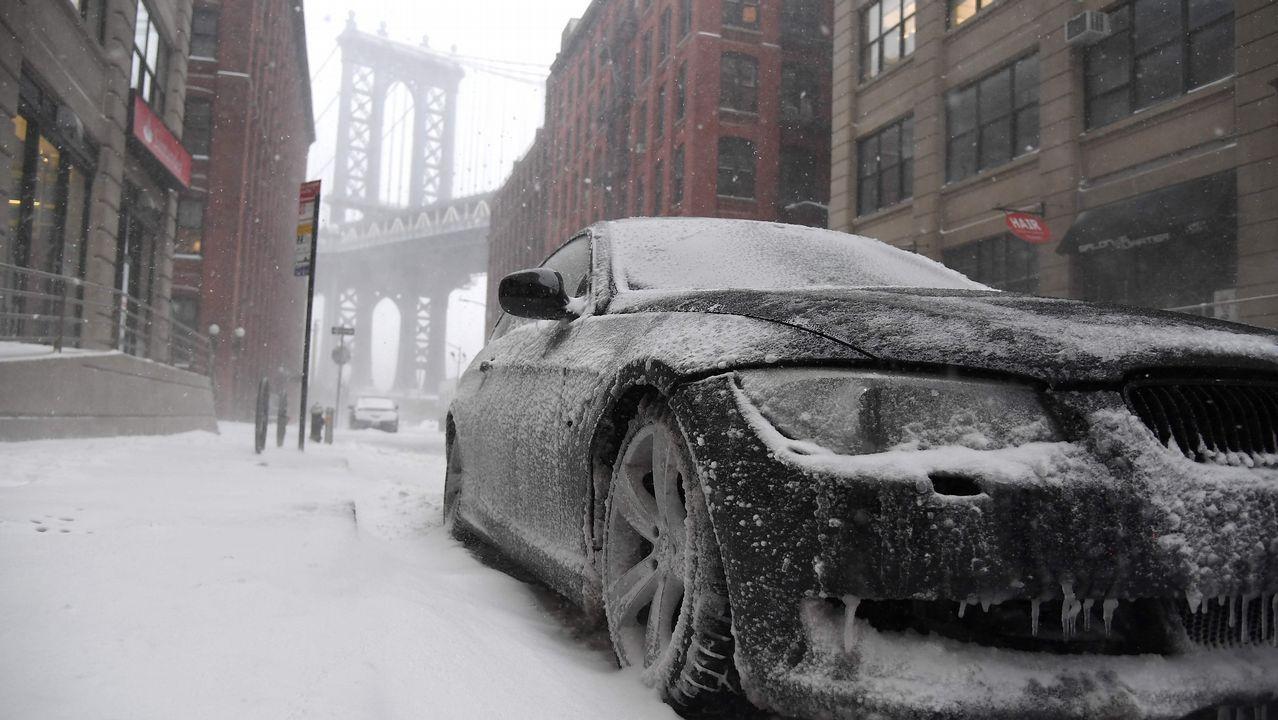 Las calles de Manhattan, blancas