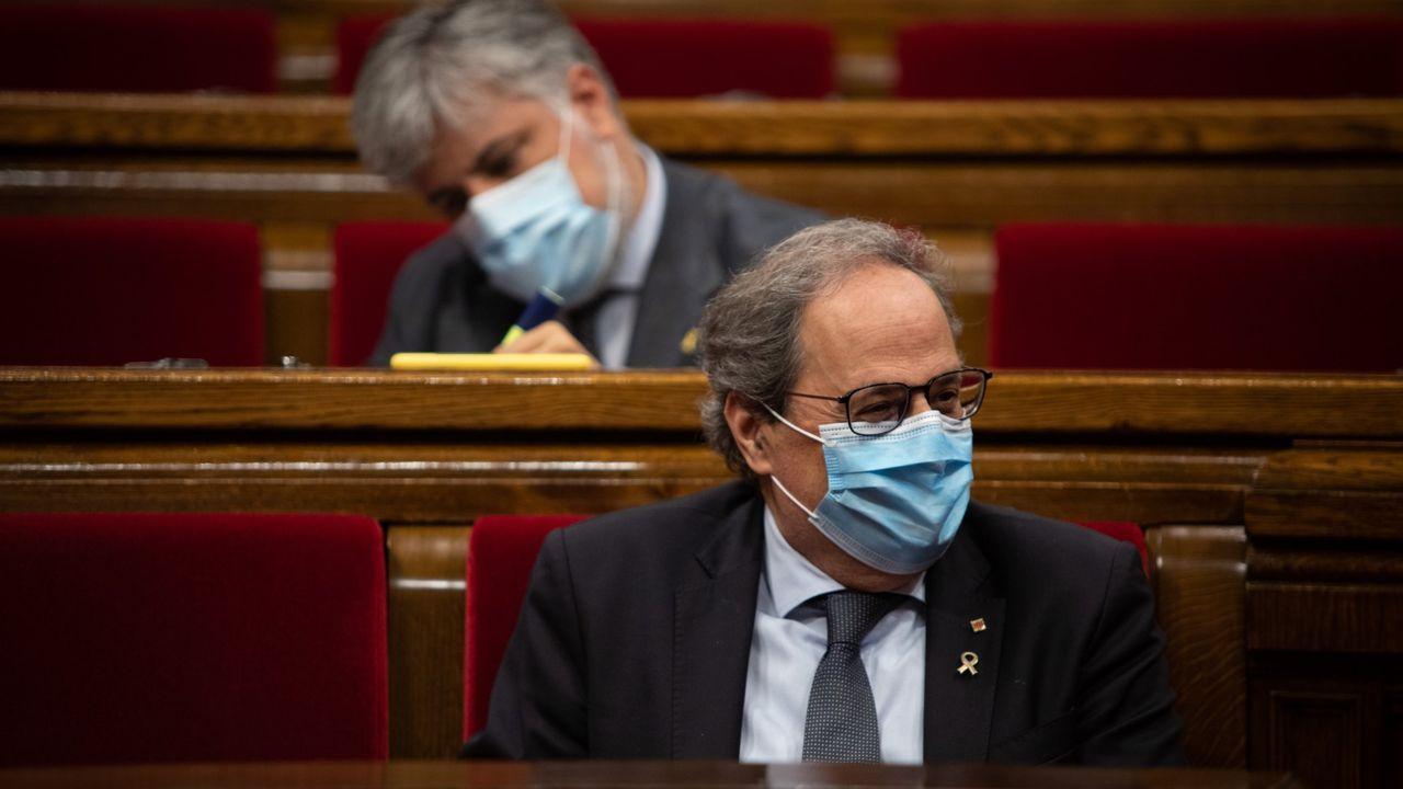 En directo |El Tribunal Supremo revisa la inhabilitación de Quim Torra.El presidente de la Generalitat, Quim Torra