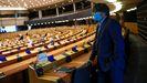 Carles Puigdemont, este lunes en el Parlamento Europeo