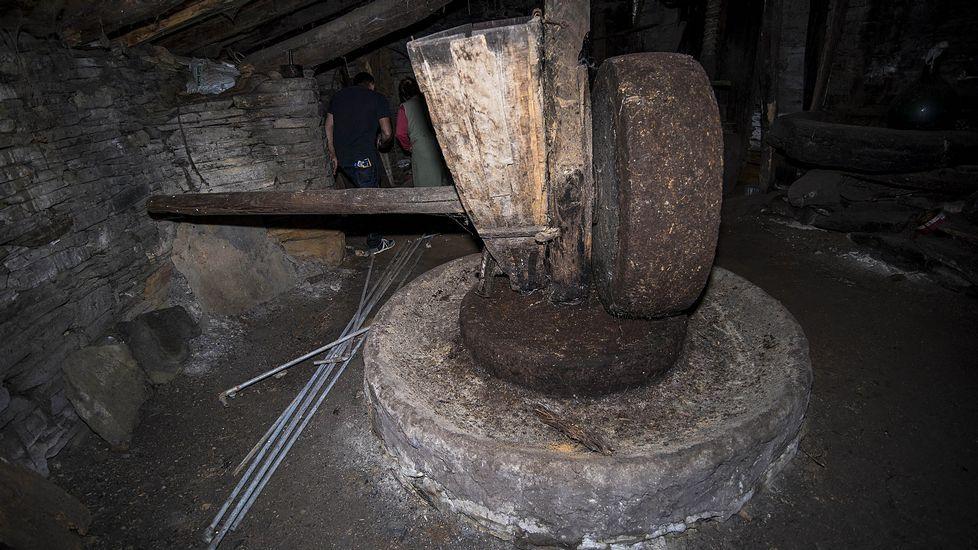 El molino de aceite de la Casa do Campo se conserva en un relativo buen estado