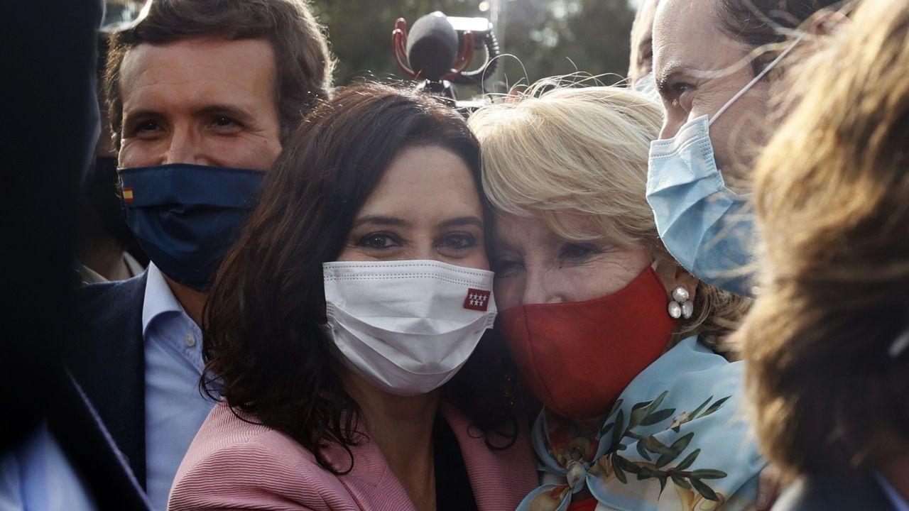 Isabel Díaz Ayuso: «La libertad ha triunfado en Madrid».El líder del PSC, Salvador Illa, interpela a Pere Aragonès durante la sesión de control al Ejecutivo catalán en funciones