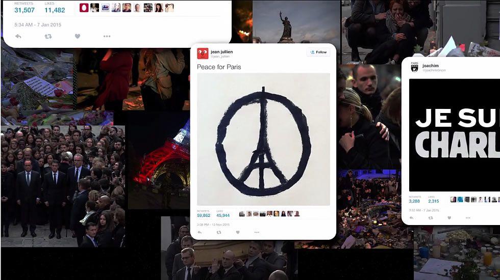 Los más influyentes en Twitter del año 2015.El cuerpo del individuo quedó tendido en el suelo en el exterior de la comisaría de la calle de la Goutte d'Or, en torno a la que se organizó un cordón policial con decenas de agentes.