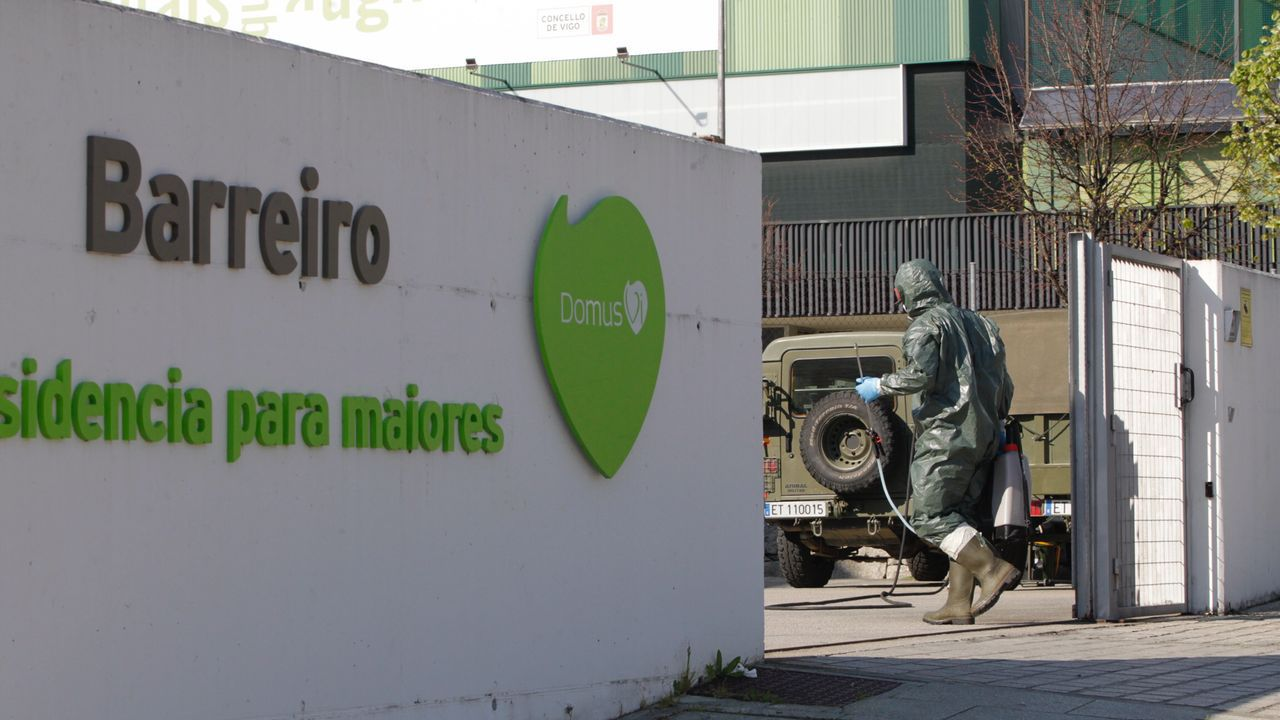 El hospital Álvaro Cunqueiro de Vigo