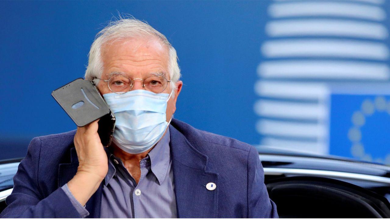 Josep Borrell, alto representante de Asuntos Exteriores y Polìtica de Seguridad de la UE
